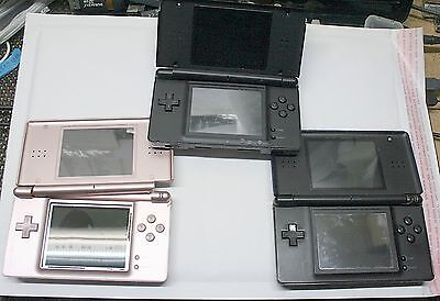 Lot Of 3 Nintendo Dslite Consoles - For Parts Only