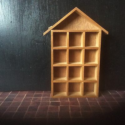 Thimble Display Tray,rack,holder.collectable.wood Holds 12.good Condition