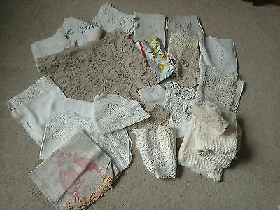 Collection of vintage linen