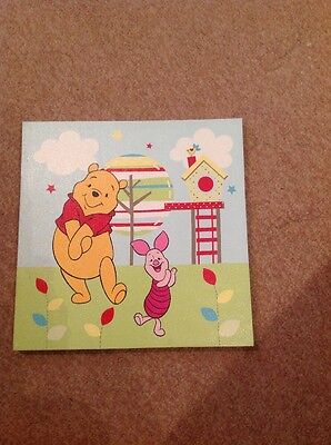 Disney Winnie The Pooh Canvas Picture