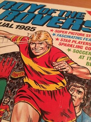 Roy Of The Rovers Annual 1985