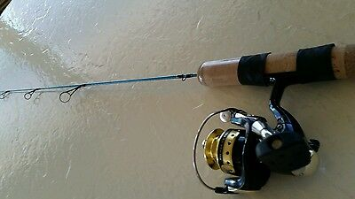 St. Croix Ice Fishing Rod And Reel