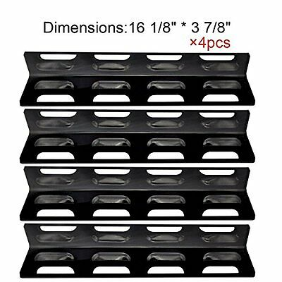 HLC The Red BBQ 92071(4-pack) Replacement Stainless Steel Heat Plate/shield for