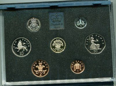 Great Britain 1991 Proof Set with COA