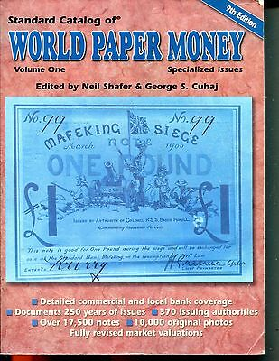 2002 Standard Catalog of World Paper Money - Specialized Issues  9th Edition  -
