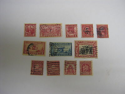 United States USED Stamps - 1927 to 1929