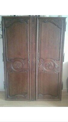 Beautiful Antique French Armoire / Wardrobe