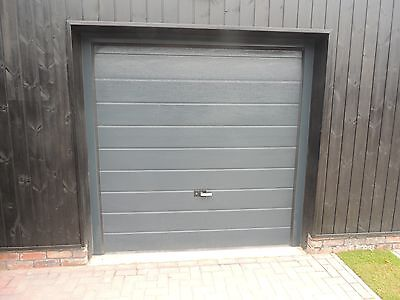40mm Insulated Sectional Garage Door White or Anthracite