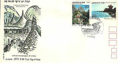 Korea First Day Cover 1979 World Tourism Day