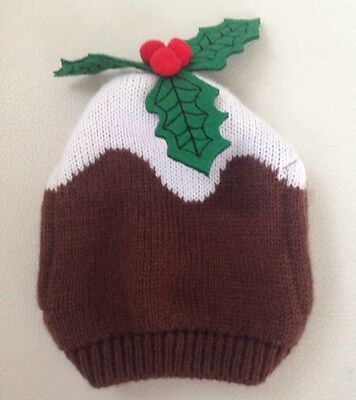 New (no Tags) Christmas Pudding Small Teapot Cover/Cosy 99P