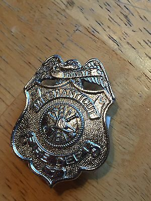 Obsolete Badge - Cranston RI Meshanticut Fire Department Badge
