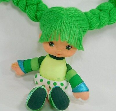 "1983 Vintage Rainbow Brite 10"" Doll Patty O'Green Hallmark Green Yarn Hair"