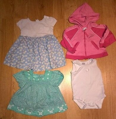 Bundle of baby girls clothes 6-9 months. 4 items. including Monsoon.