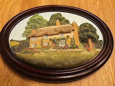Thomas Hardy's Cottage 3D Wall Plaque By Lakeland Studios Of Cumbria England VGC