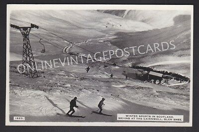 Winter Sports Ski-Ing At The Cairnwell Glenshee Real Photo