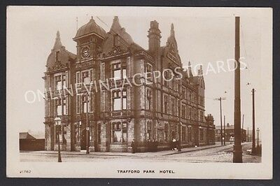 Manchester Suburbs Trafford Park Hotel Super Real Photo