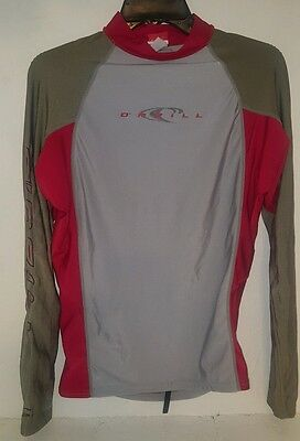O'Neill Long Sleeve Athletic 50+ UV Surfing Shirt Youth 2XL