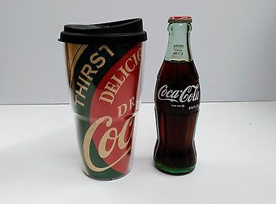 "Coca-Cola 20oz ""Delicious and Refreshing"" Travel Mug - BRAND NEW"