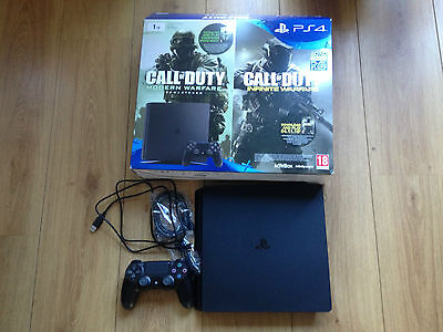 Sony Playstation 4 1Tb Slim Console With All Wires And Controller Chu-2016B