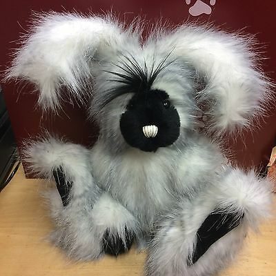 Charlie Bears  Herbs Plush Jointed Rabbit New With Tag
