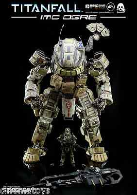 TZ-TF-005 Titanfall IMC Ogre Robot With Pilot Action Figure ThreeZero Sideshow