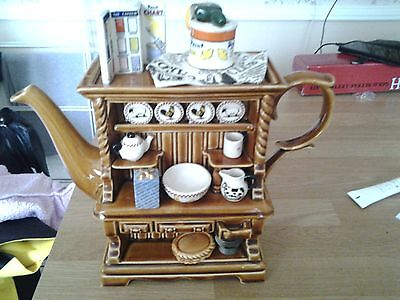 Reduced  Swineside Collectable Large Novelty Teapot Dresser