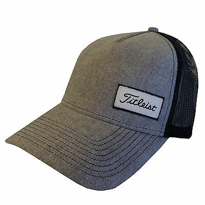 New 2016 Titleist West Coast Collection Fitted Mesh Hat COLOR: Black SIZE: S/M