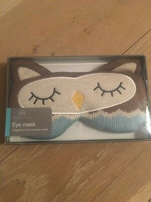 Aroma Home Owl Eye Mask - Brand New & Boxed