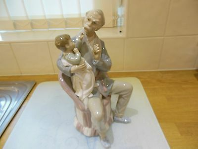 "Lladro ""the Grandfather"" (See Description) #4654"
