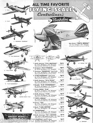 Berkeley Models Inc. 200+ Kit-Plans Collection