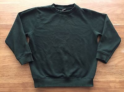Boys Green School Jumper Age 6 Years TU