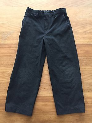Boys Grey School Trousers Age 6 Years TU