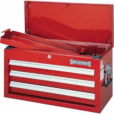 Sidchrome 3 Drawer Tool Box Chest RRP$349 Brand New Heavy Duty