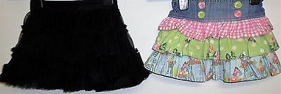 Baby Girls Skirts Age 9 Months Black By Myleene Klass And Denim Floral By Next