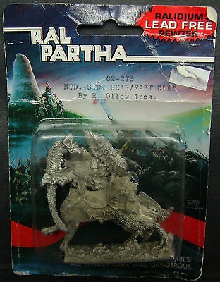 Ral partha citadel dungeons & dragons ogre mounted on fast claw blister 02-273