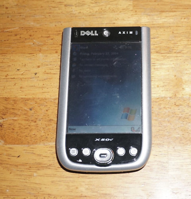 Dell X50v Axim Windows PDA Good Condition Works ****FREE SHIPPING****!