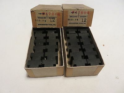 "(24-pcs for 40.00)   T-Nuts   3/8""- thread  / 9/16 T-Slot   Northwestern #47004"