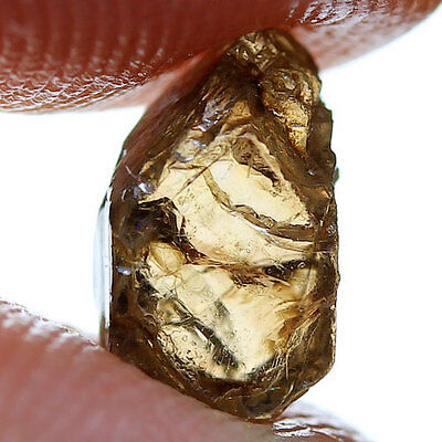 2.70 ct. Champagne Unheated Zircon Rough Natural Gemstone Free Shipping!