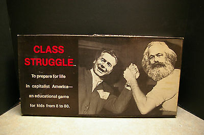 Vintage 1978 'class Struggle' Board Game No. 1984 Bertell Ollman - Counted