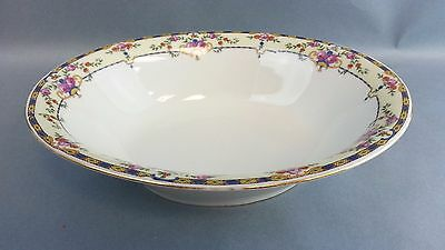 Oval Bowl Vegetable Serving Dish Vintage Victoria China Czechoslovakia Warwick