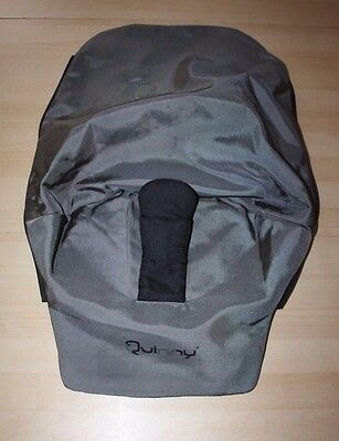 """Quinny Buzz pram and pushchair """" second stage seat cover """" - grey"""