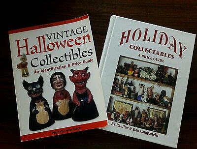Collector's Books ( 2)  Halloween, Christmas and other Holidays