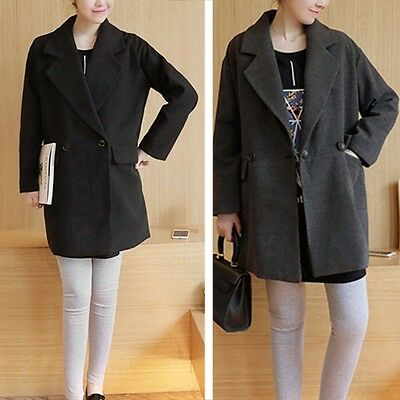 New Lady Maternity Coat Chic Pregnant Women Winter Cloak Comfy Loose Outerwear