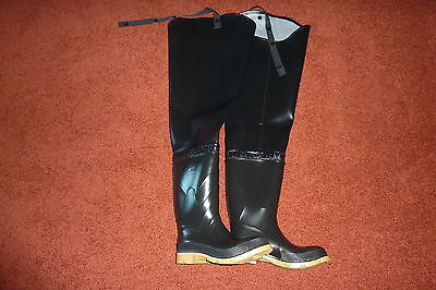 OnGuard NIB M/N 86056 Men's size 7 Women's size 8 Steel-Toe Hip Waders Boots
