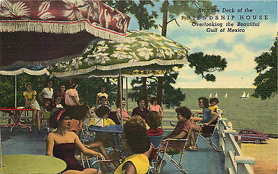 View Of Deck, Friendship House, Mississippi City, Mississippi