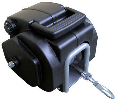 NEW 12V DC Powered 3500LBS Pulling Power Heavy Duty Electric Boat Winch