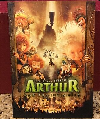 Arthur and the Invisibles Movie Promotional Book