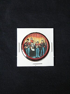 1967 Kellogg's MONKEES Coin (Red) Very Nice