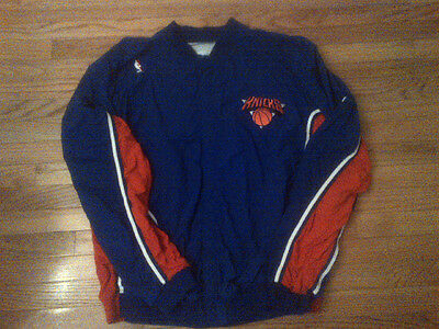 Patrick Ewing New York Knicks NBA 1993-94 Champion Game Used Warm Up Jacket