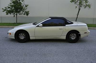 Nissan: 300ZX 300zx 1994 300zx pearl white convertible No Reserve .300zx